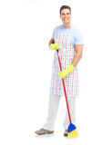 Man cleaner. Stock Photography