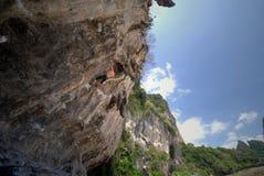 Man climbing Royalty Free Stock Images