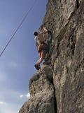 Man Climbing Royalty Free Stock Photos