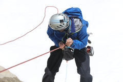 Man climbing Stock Images