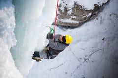 Man climbing Royalty Free Stock Image