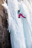Man climbing Stock Image