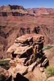 Man Climbing Pinnacle Royalty Free Stock Image