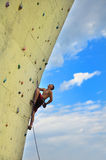 Man climbing Royalty Free Stock Photography