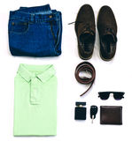 Man Clothes Outfit Royalty Free Stock Photo