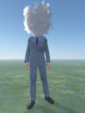 Man cloud Stock Images