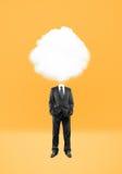Man cloud  head Royalty Free Stock Photo