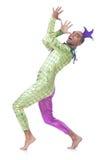 Man clown Royalty Free Stock Photography