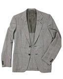 Man coat. Man clothes coat isolated on white background Royalty Free Stock Images
