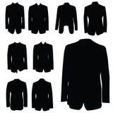 Man coat black art silhouette Stock Photos