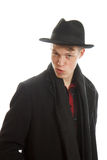 Man in a coat Stock Image