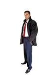 Man in coat. Stock Photo