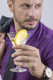 Man cocktail Royalty Free Stock Photo