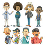 Man Collections Stock Images
