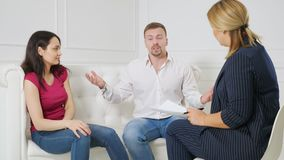Family facing relationship difficulties