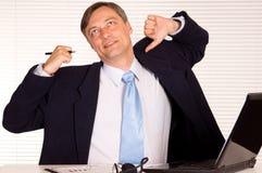 Man at computer Stock Images