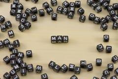 The man Stock Photo