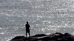 A man contemplating the great sea