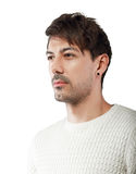 Man with contemptuous glance Royalty Free Stock Photography