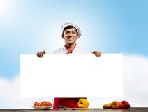 Man cook Stock Photos