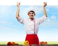 Man cook Stock Photography