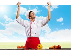 Man cook Royalty Free Stock Image