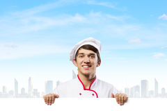 Man cook Stock Images