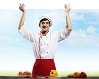 Man cook Royalty Free Stock Photos