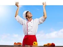 Man cook Royalty Free Stock Photo