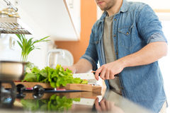 Man cooking Stock Photography