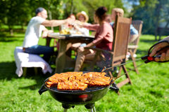 Free Man Cooking Meat On Barbecue Grill At Summer Party Royalty Free Stock Photos - 87994778