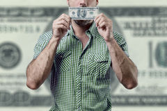 Man corruption Royalty Free Stock Images