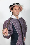 Man in costume. Man in a fancy dress costume