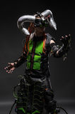 Man in costume with horns Royalty Free Stock Photography