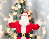 Man in costume of santa claus Stock Photography