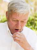 Man Coughing Stock Images