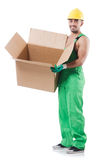 Man in coveralls Royalty Free Stock Photography