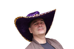 Man in cowboy hat Royalty Free Stock Image