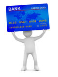 Man with credit card Royalty Free Stock Images