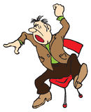 A man cries Stock Photo