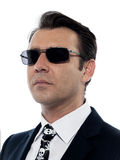 Man criminal portrait white collar crime Royalty Free Stock Photo
