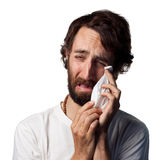 Man crying Royalty Free Stock Images
