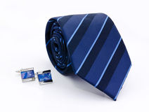 Man cuff links and tie   Stock Image