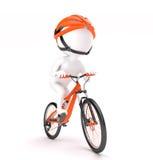 Man cycling Royalty Free Stock Image