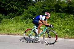 Man  cycling in triatlon Royalty Free Stock Photography
