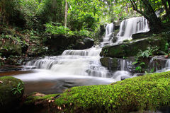 Man Daeng Waterfall Stock Images