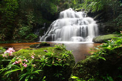 Man Daeng Waterfall Royalty Free Stock Photo