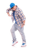 Man in dance pose Royalty Free Stock Images
