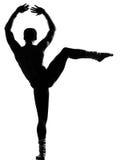 Man dancer dancing Stock Photography