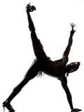 Man dancer dancing Stock Photos